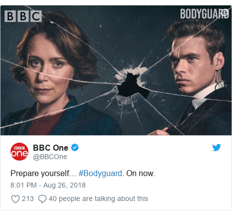 Bodyguard What The Critics Say About New Bbc Drama Bbc News