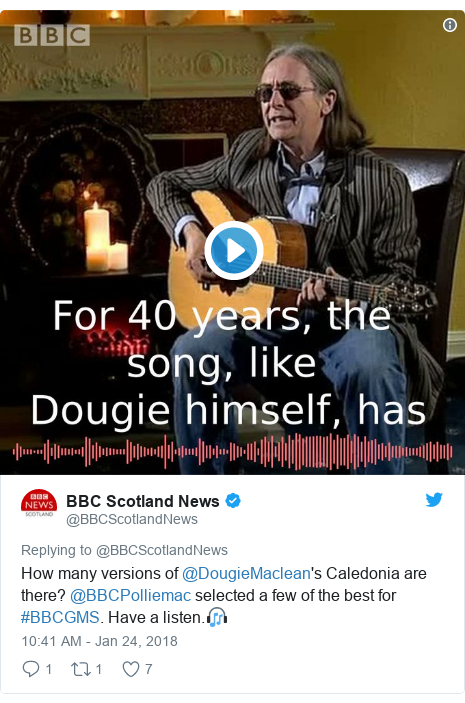 Caledonia - a simple love song to Scotland - BBC News