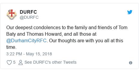 Second Durham Rugby Player Dies In Sri Lanka Bbc News