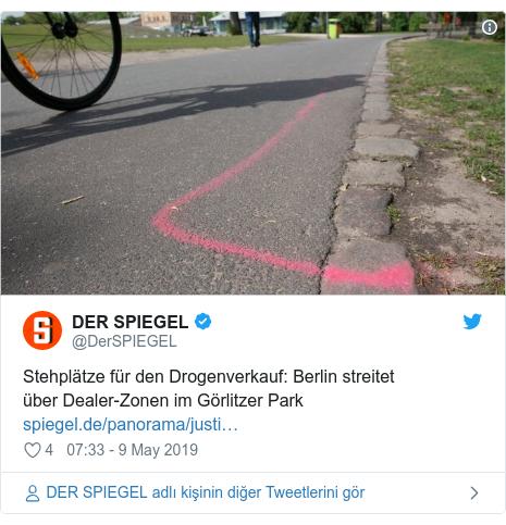@DerSPIEGEL tarafından yapılan Twitter paylaşımı: Stehplätze für den Drogenverkauf  Berlin streitet überDealer-Zonen im Görlitzer Park