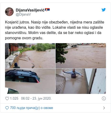Poplave u Srbiji: Evakuisano više stotina ljudi, vanredna situacija u 14 opština 2