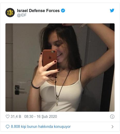 @IDF tarafından yapılan Twitter paylaşımı: