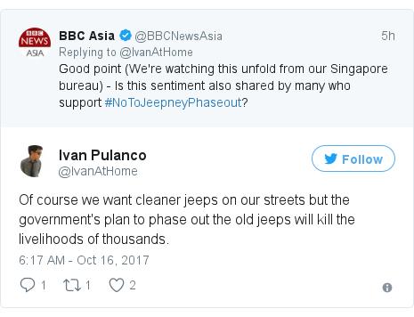 Philippines Strike Filipinos Rally Around Iconic Jeepney Drivers