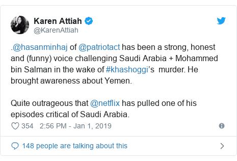 Netflix removes Hasan Minhaj comedy episode after Saudi
