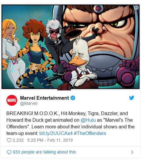 Marvel Revives Notorious Flop Howard The Duck For Tv Bbc News