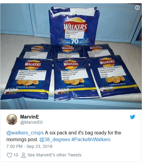 Royal Mail: Stop posting crisp packets without envelopes - BBC News