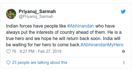 Abhinandan: Who is the Indian pilot captured by Pakistan
