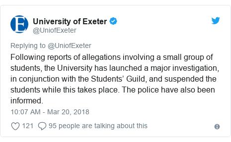 university of exeter england