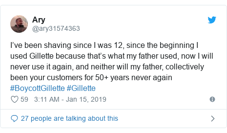 Gillette faces backlash and boycott over '#MeToo advert