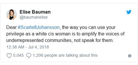 scarlett johansson quits trans role after lgbt backlash bbc news