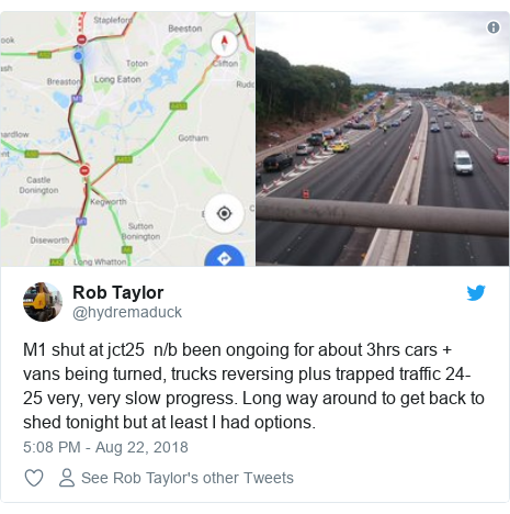 Fatal crash shuts M1 causing major delays - BBC News