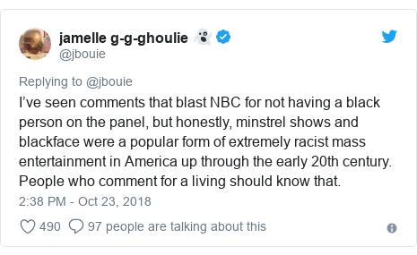 Twitter Post By Jbouie Ive Seen Comments That Blast NBC For Not