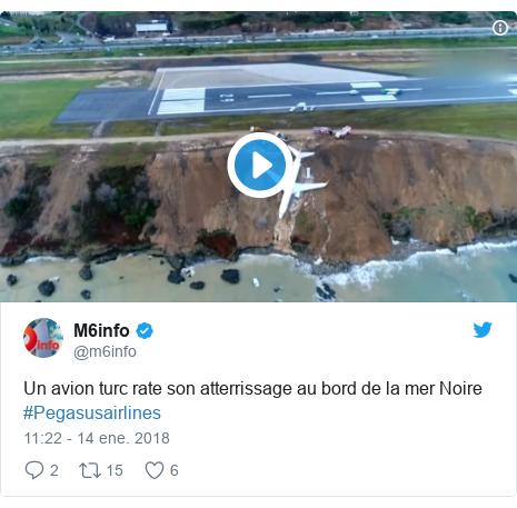 Avión cae por un acantilado y casi termina en el Mar Negro