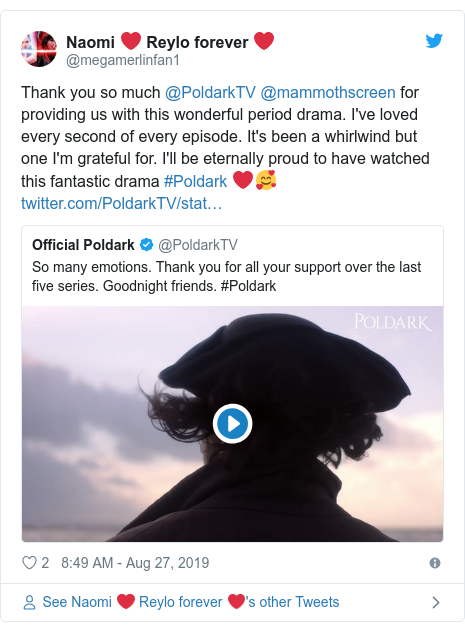 Poldark finale is 'gloriously hammy' as show 'goes out with
