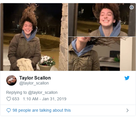 Twitter post by @taylor_scallon: