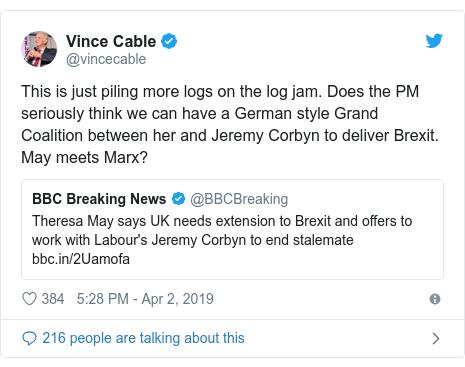 Brexit: PM asks Corbyn to help break deadlock - BBC News