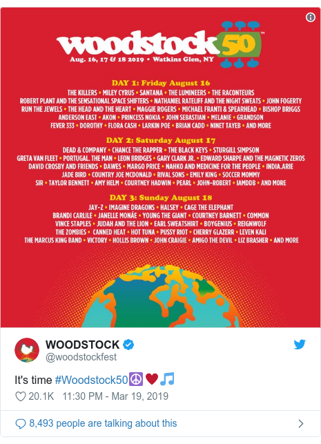 Woodstock 50 anniversary festival cancelled, investor says