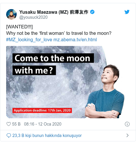 @yousuck2020 tarafından yapılan Twitter paylaşımı: [WANTED!!!] Why not be the 'first woman' to travel to the moon?#MZ_looking_for_love