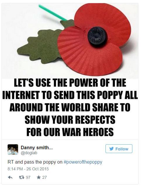 poppy tweet