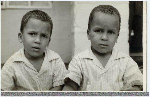 Richard (l) and Victor (non-identical twins)