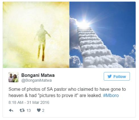 South African preacher mocked after charging for 'heavenly