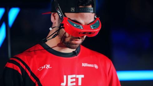 Drone racer, Jordan Temkin or Jet