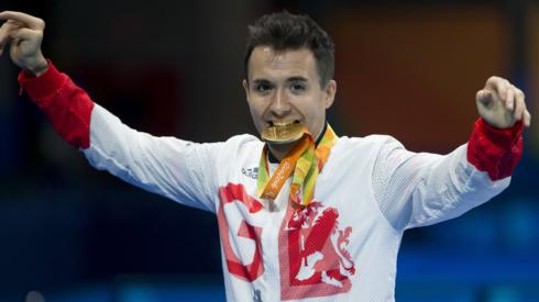 Paralympic table tennis champion Will Bayley