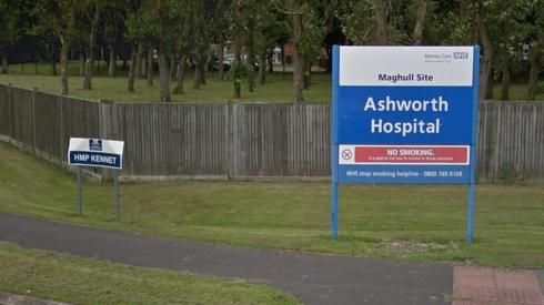 Ashworth Hospital sign