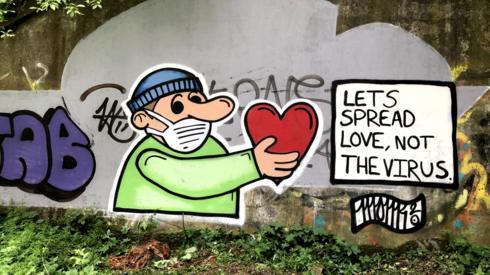 graffiti paisley