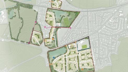 Map of proposed Wool housing plan