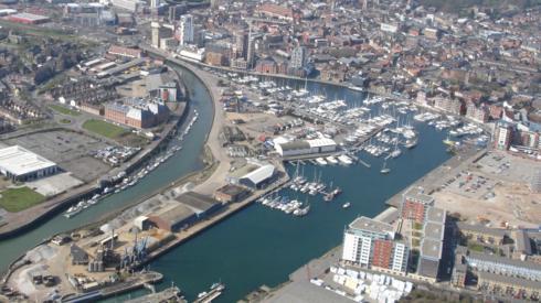 Ipswich waterfront
