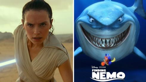Star Wars and Finding Nemo