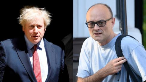 Boris Johnson/ Dominic Cummings