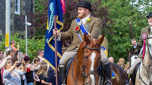 Lauder common riding