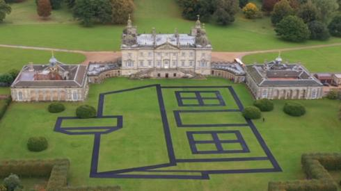 Estate by Richard Woods at Houghton Hall