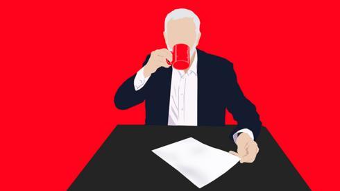 Jeremy Corbyn illustration