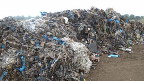 Mound of waste