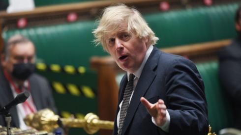Boris Johnson at PMQs