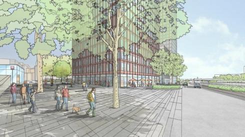 Artist's impression of Portcullis House development