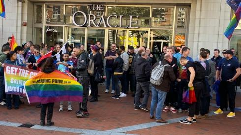 Oracle protest