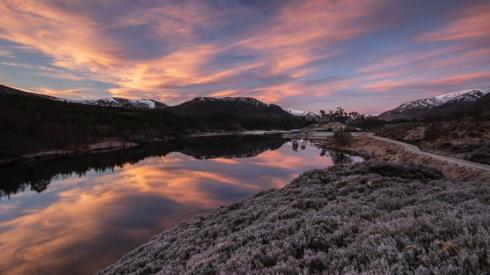 Sunrise at Glen Affrick