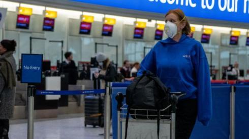Heathrow traveller