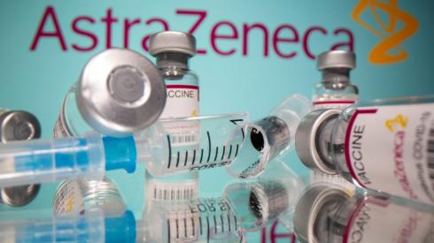 AstraZeneca vaccines (file pic)