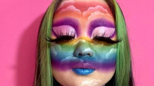 Make-up selfie