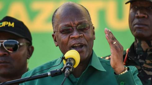 Tanzania's President John Magufuli pictured in August 2020
