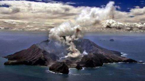 Eruption in New Zealand