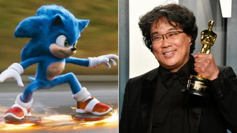Sonic the Hedgehog and Bong Joon-ho