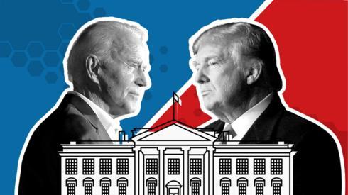 Trump and Biden profile images