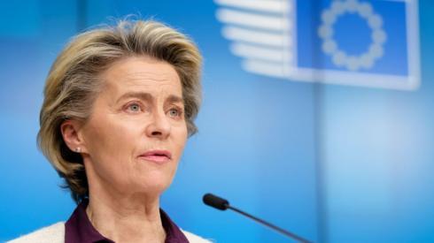 European Commission chief Ursula von der Leyen