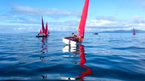 Sailing on Port Ban